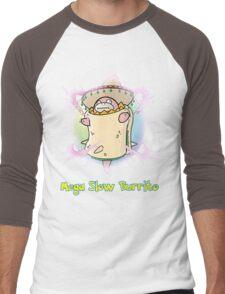Mega Slow Burrito V2 Men's Baseball ¾ T-Shirt