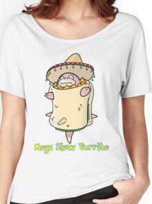 Mega Slow Burrito V1 Women's Relaxed Fit T-Shirt