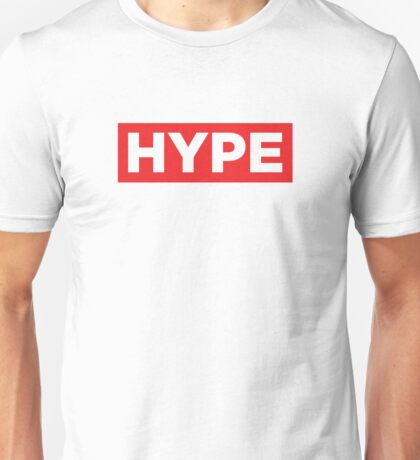 HYPE Red Unisex T-Shirt