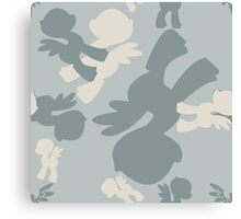 Brony Military Air Force Camo Canvas Print