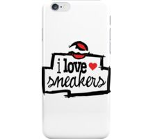 I Love Sneakers Chicago iPhone Case/Skin