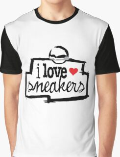 I Love Sneakers J11 Concords Graphic T-Shirt