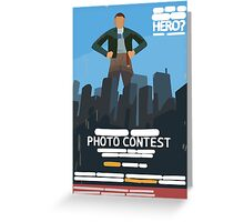 Life is Strange - Everyday Heroes Contest Poster Greeting Card