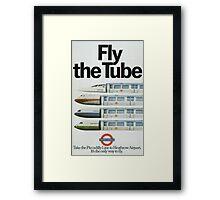 Vintage poster - London Underground Framed Print