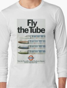 Vintage poster - London Underground Long Sleeve T-Shirt