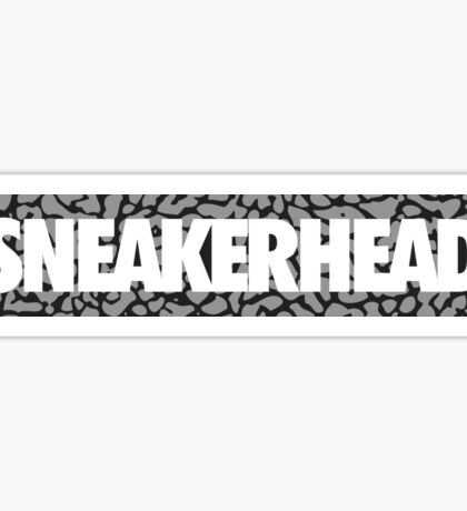 Sneakerhead Cement Sticker
