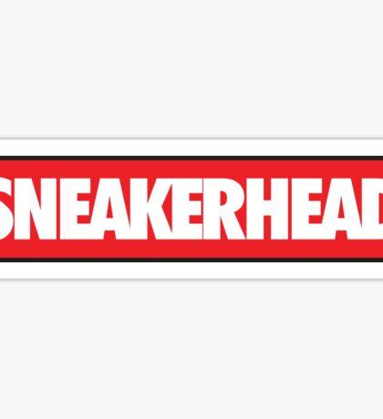 Sneakerhead Bred Sticker