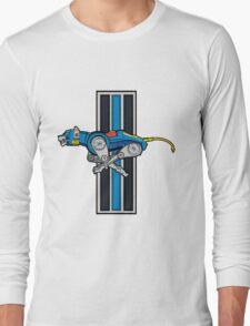 Voltron Blue Lion Running Logo T-Shirt