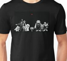 Undertale - Most of the characters Unisex T-Shirt