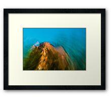 Mountain Moves Framed Print