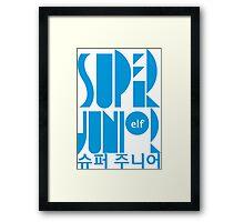 Super Junior ELF K Pop Fan Framed Print
