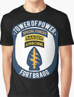 Special Forces Tower of Power Graphic T-Shirt