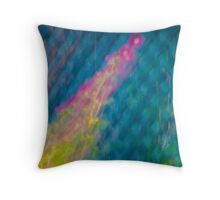 Grid Launch Throw Pillow