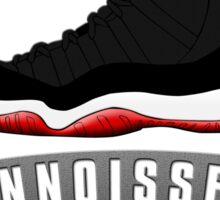 Sneaker Connoisseur-J11 Bred Sticker