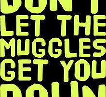 Don't Let The Muggles Get You Down by Kreativista