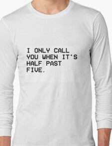 THE WEEKND CALL Long Sleeve T-Shirt