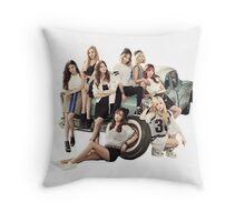 SNSD BG Throw Pillow