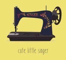 Cute Little Singer Kids Tee