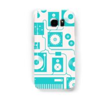 Four To The Floor - Teal Samsung Galaxy Case/Skin