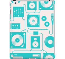 Four To The Floor - Teal iPad Case/Skin