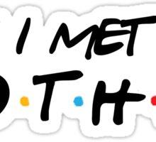 himym, Sticker