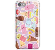 Kawaii Cute Ice Cream Pattern iPhone Case/Skin