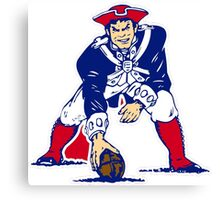 New England Patriot Old Canvas Print