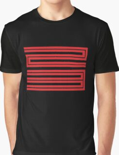 J11-23 Red Graphic T-Shirt