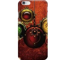 Have Yourself a Steam Punk Little Christmas iPhone Case/Skin