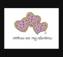 Cookies Are My Valentine Baby Tee