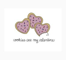 Cookies Are My Valentine Kids Tee