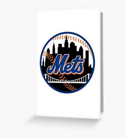 New York Mets2 Greeting Card