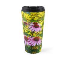 Colorful echinacea flowers Travel Mug