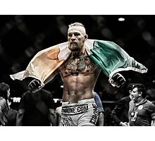Conor McGregor - Victorious Photographic Print