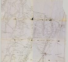 Civil War Maps 0516 Information map Southeastern Tennessee by wetdryvac