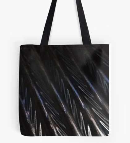 Iridescent ripple Tote Bag