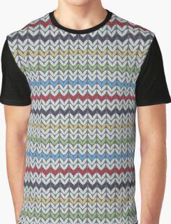 Knitted Graphic T-Shirt