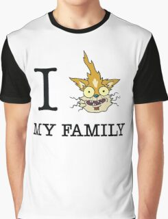 I Squanch My Family Graphic T-Shirt