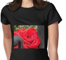 Iron Rose Macro Womens Fitted T-Shirt
