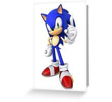 (HD) Sonic Greeting Card