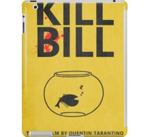 Kill Bill Minimalist Poster iPad Case/Skin