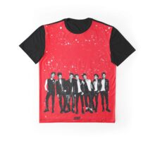 iKON 'Welcome Back' Red Graphic T-Shirt
