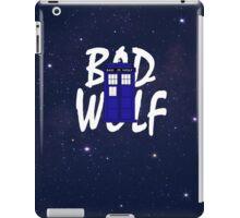 Bad Wolf Variation iPad Case/Skin