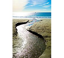 Dana Point Rivulet  Photographic Print