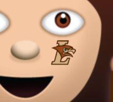 Lehigh Sassy Girl Emoji Sticker