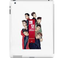 iKON 'What's Wrong?' iPad Case/Skin