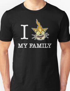 I Squanch My Family ( Rick and Morty ) Unisex T-Shirt