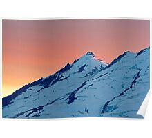 Sherman Peak on Mount Baker Poster