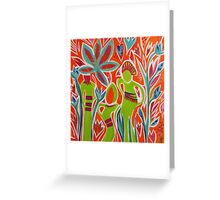 Forest Children Greeting Card