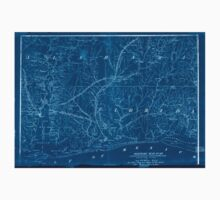 Civil War Maps 1125 Military map no 54 prepared as basis for additional surveys Inverted Kids Tee